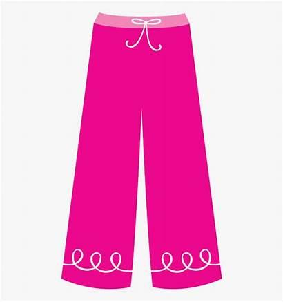 Pants Clip Clipart Pajama Pajamas Trousers Paper