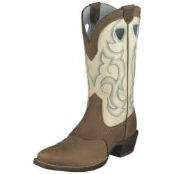 womens boots toe 39 s ariat 11 quot rawhide square toe boots earth 216125 cowboy
