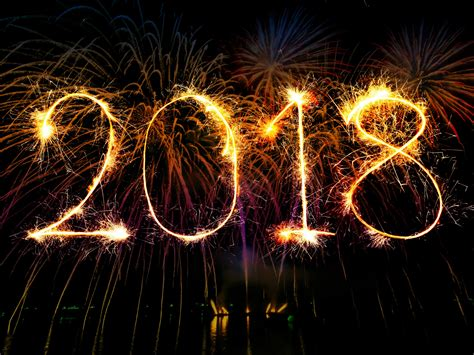 wallpaper  happy  year fireworks hd
