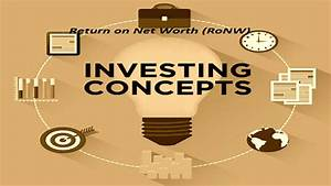 What Is Return On Net Worth Ratio Ronw Stockmaniacs