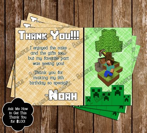 concept designs  minecraft inspired birthday