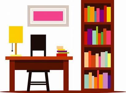Bookshelf Clipart Desk Library Creazilla Transparent