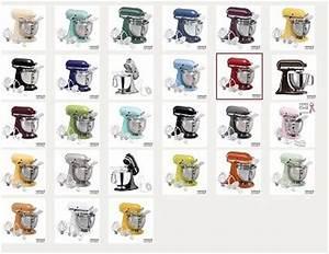 Kitchenaid Mixer Colors Chart Kitchenaid Classic 4 5 Quart Stand Mixer Only 175 99