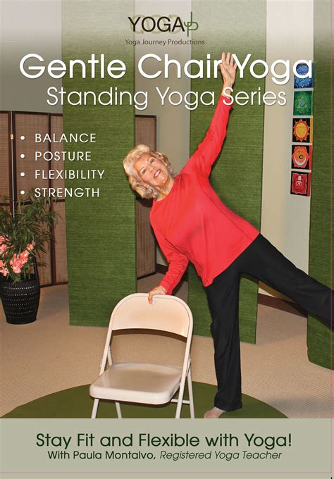 chair for seniors dvd gentle chair standing series dvd yogajp