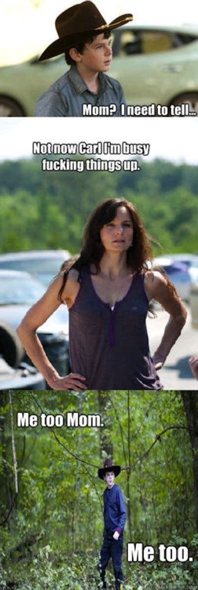 Lori Walking Dead Meme - the walking dead meme invades gores truly horror news reviews and more
