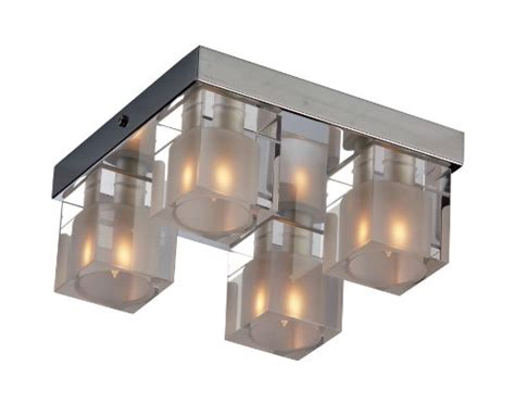 black friday et2 lighting e22038 18 4 light blocs flush