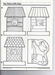 the three little pigs kindergarten nana With the three little pigs puppet templates