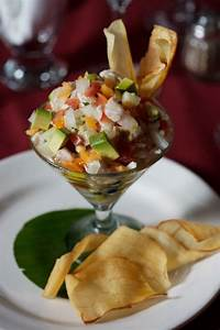 Ceviche de Dorado, Sayulita, Riviera Nayarit, raw golden