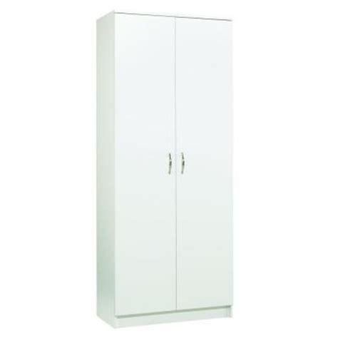 laminate cabinet doors home depot akadahome 5 shelf laminate storage cabinet in white