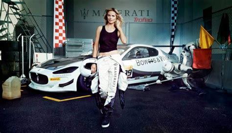 Heidi Klum for 2014 Maserati Campaign | Fashion Gone Rogue