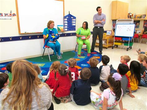 primrose school students receive special visit from 101 | VV SH Primrose preschool 39