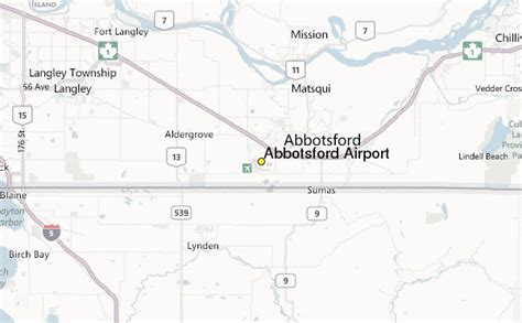 abbotsford airport weather station record historical