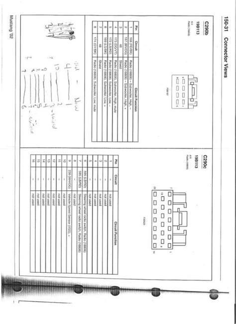 2001 Mustang Mach Radio Wiring Diagram by 2001 Mustang Mach 460 Wiring Diagram Disc Changer 49