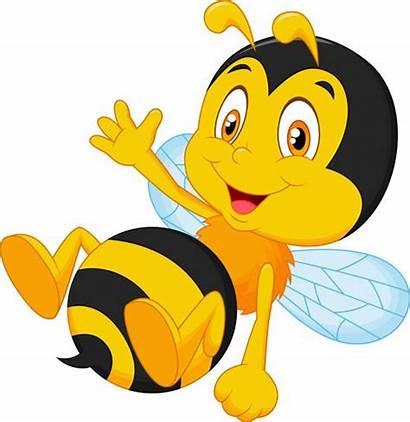 Bee Bumble Cartoon Vector Illustration Drawing Waving