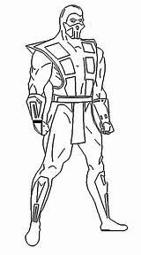 Mortal Kombat Coloring Scorpion Zero Sub Coloring4free Rain Enjoy Wiggles Characters Character Printable Getdrawings Shao Kahn Jade Popular sketch template