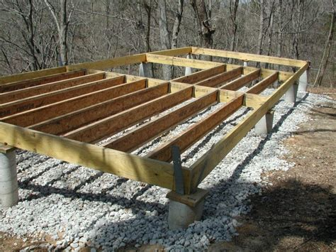 how to frame a floor cabin floor framing and floors on