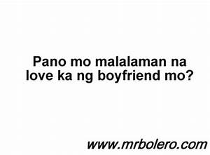 Mr. Bolero Quotes Collections - Tagalog Love Quotes