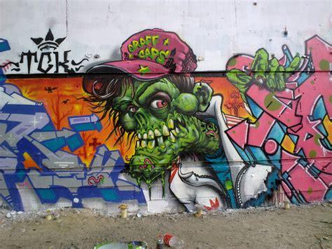 Graffiti Zombie : Zombie Graff By Elbearone On Deviantart