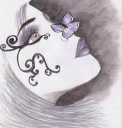 Butterfly Kisses Drawing