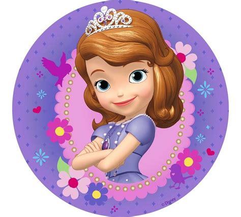 princess sofia   edible cake icing images