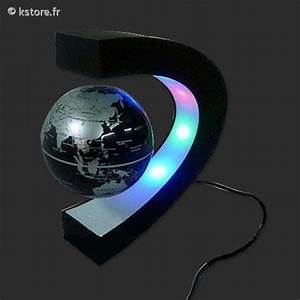 Lampe Globe Terrestre : globe terrestre flottant avec lampe ~ Teatrodelosmanantiales.com Idées de Décoration