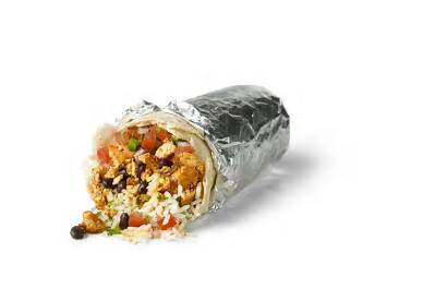 Burrito Chipotle Transparent Burritos Chicken Menu Mexican