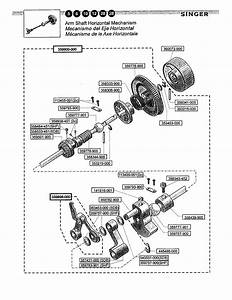 Model Singer Sewing Machine Parts Diagram