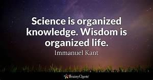 Wisdom Quotes -... Scientific Work Quotes