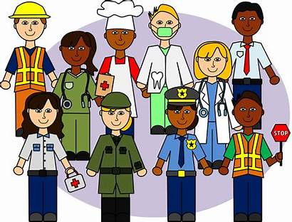 Helpers Community Clipart Clip Helper Workers Jobs