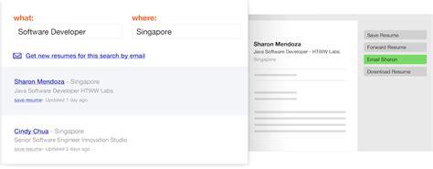indeed resume indeed sg