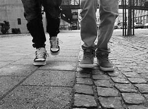 Free Images : pedestrian, walking, shoe, black and white ...
