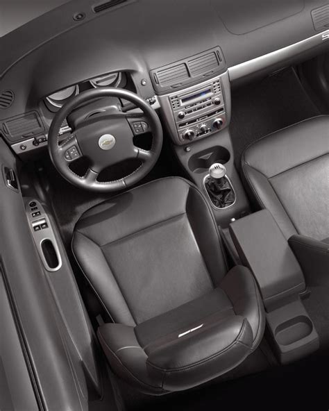 chevrolet chevy cobalt ss supercharged interior