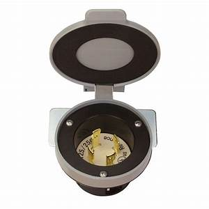 Reliance Controls 30 Amp Power Inlet Kit-pk30