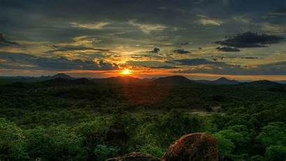 Africa Wallpapers Sunset