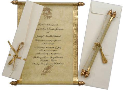 indian wedding invitations nyc unique anniversary invitations scroll anniversary