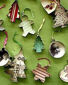 Cute Christmas ornaments made using cookie cutters Ideas