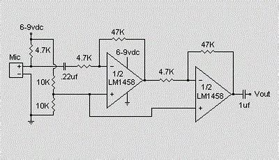 World Technical Preamplifier Circuit For Electret