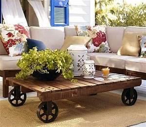 MODERN INTERIOR: Wooden Pallets Furniture Ideas