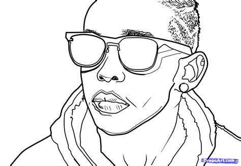 Mindless Behavior Free Colouring Pages