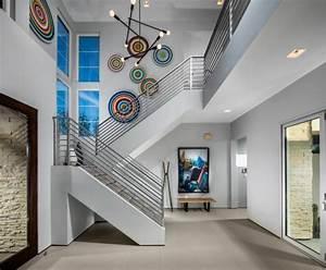 Décoration D Escalier Intérieur : d co escalier 51 id es cr atives et inspirantes ~ Nature-et-papiers.com Idées de Décoration