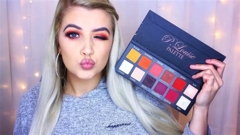 plouise eyeshadow palette tutorial launch party review