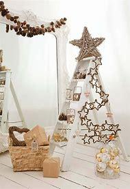 ladder christmas tree ideas