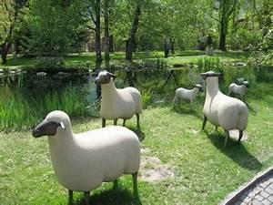 Statue Deco Jardin Exterieur : mouton deco jardin statue exterieur jardin reference maison ~ Teatrodelosmanantiales.com Idées de Décoration