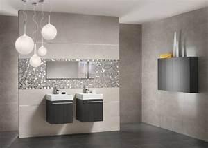 modele carrelage salle de bain With modele carrelage salle de bain