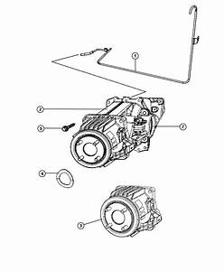 2008 Jeep Patriot Coupling  Electric Clutch   Cont Var  W