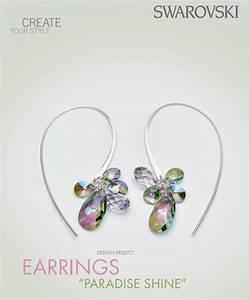 Diy Swarovski Crystal Paradise Shine Earrings Free Design