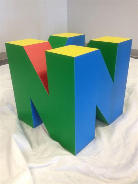 Nintendo 64 Logo Table Base — Geektyrant
