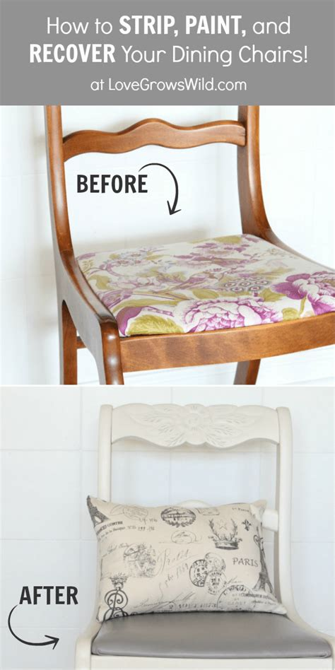 fabulous diy dining chair makeovers  red window