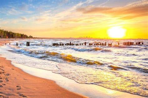 beaches poland refreshing holiday