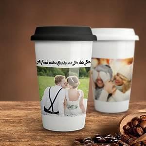 Coffee To Go Becher Thermo : coffee to go becher mit foto bedrucken ~ Orissabook.com Haus und Dekorationen